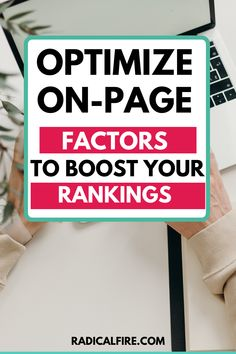 On-page optimization is a component of search engine optimization (SEO), which refers to the increase of technical, content-related, and structural aspects of a website. The goal of any website is to optimize the user's experience for their searches. In this article, you will learn how to sustainably improve the Google ranking to stand out from the competition and attract new visitors. Financial Peace, Financial Goals, Budgeting Finances, Budgeting Tips, Wealth Management, Money Management, Financial Planning For Couples, Dividend Investing, Creating Wealth