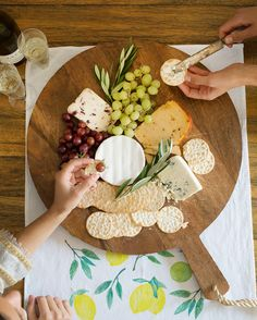 Apertivo time! Love this cheese board
