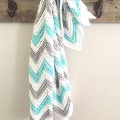 Crochet Chevron Blanket - Daisy Farm Crafts Instagram