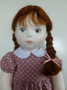 brenda brightmore doll images | ... & Annie Button. A ooak original cloth/rag doll by Brenda Brightmore