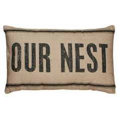 Our Nest Pillow  at Joss and Main