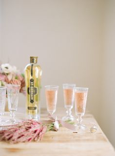 st. germain + rose
