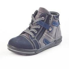 Ricosta 460529 Kinder-Stiefel Cru, blau. (5), Gr.31