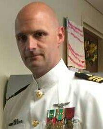 Anchor Roasting Proudly Honors Lieutenant Commander Neil D. Cascardo, Medical Service Corps, USN