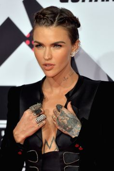 Ruby Rose has been very vocal in the past about how she doesn't identify as any gender. | People Loved Ruby Rose's Gender Fluid Comment At The MTV EMAs
