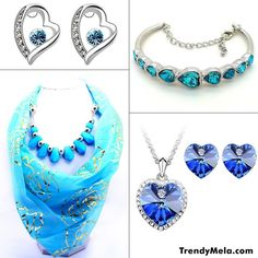 Which Jewellery is your favourite? 1. Earrings 2.Bracelet 3.Scarf necklace 4. Jewellery Set