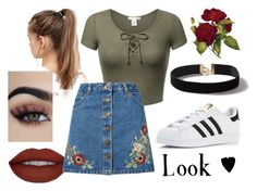 """""""Look ♥"""" by kdmorante on Polyvore featuring Dorothy Perkins, NIKE, Miss Selfridge, adidas and 2017"""