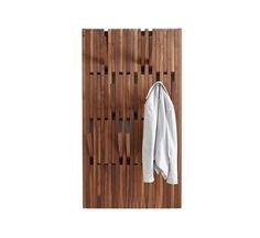 Buy online Piano walnut By per-use, wall-mounted walnut coat rack design Patrick Seha