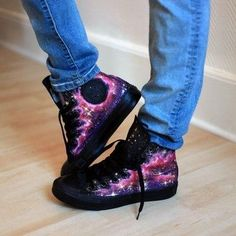 Starry Night Converse.