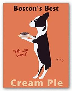 Boston's Best Cream Pie - Poster by Ken Bailey (22x28)