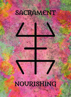 The Sacrament (Nourishing) image for the Transcendence Oracle™ card deck by Aethyrius.
