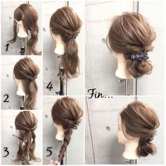 Takes his gaze ♡ Spring date hair by scene Date Hairstyles, Messy Hairstyles, Pretty Hairstyles, Hair Arrange, Scene Hair, Up Girl, Hair Dos, Hair Hacks, Hair Inspiration