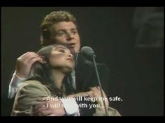 "Les Misérables, ""A Little Fall of Rain"" performed by Michael Ball & Lea Salonga. What a phenomenal song and musical!!"