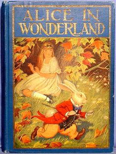 *ALICE in WONDERLAND ~ Milo Winter, Illustrator.  1916, by:  Lewis Carroll.