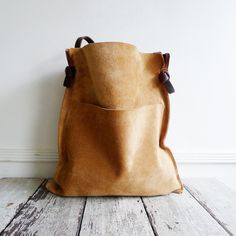 Image of SADDLEBAG - tan suede [ONE IN STOCK]