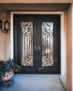 😊😊😊 If you're looking for double entry doors, it's important that these doors match your style and meet your unique needs. We have the right doors for you! -- ☎️☎️☎️ Call 877-205-9418 for Orders and Inquiries ⚠️⚠️⚠️ About this Beautiful IRON DOOR: *Tampa* Iron Door -- #irondoor #iwantthatdoor #wroughtirondoor #universalirondoors #ironfrontdoor #irondoorsnearme #irondoorcompany #cheapirondoor Iron Front Door, Double Entry Doors, Wrought Iron Doors, Your Style, Meet, Unique, Furniture, Beautiful, Home Decor