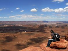 Hiking on the Colorado Plateau, Calendar Sheet August: Canyonlands - Island in the Sky: Grand View Point Trail