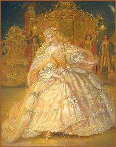 "Kinuko Y. Craft, ""Cinderella"" illustration"