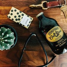 @dirtypenguincoffeeco. featuring the Olive Oil mini bar from the MAST Collection alongside Stumptown Coffee.