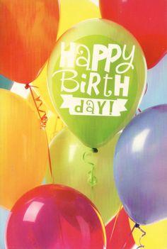 Happy Birthday!  Verjaardagskaart happy birthday