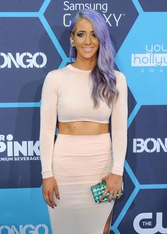 "( BEAUTIFUL WOMAN 2014 & 2015 ★JENNA MARBLES ) ★ Jenna Nicole Mourey - Monday, September 15, 1986 - 5' 5½"" - Rochester, New York, USA."