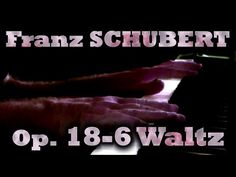 Franz SCHUBERT: Op. 18, No. 6 (Waltz in B minor), D145