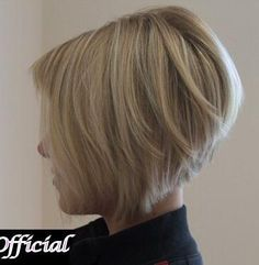 "short layered bob hair style, this is what i wanted when i chopped my hair in 2011!!! I think i have a grudge on the barber for her ""mistake"""