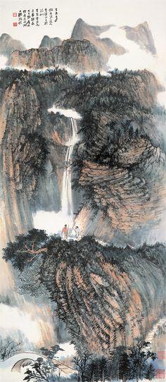 Zhang Daqian   Chinese Painting   China Online Museum