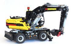 Lego Technic RC Excavator