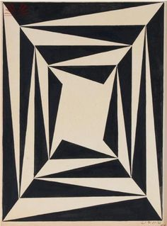 Aluisio Carvao, geometrico, 1954.