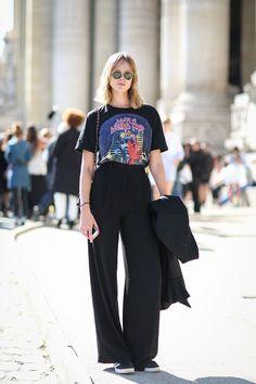 Super Fashion Week Street Style Summer Wide Legs Ideas Super Fashion We Fashion Week, Look Fashion, Paris Fashion, Trendy Fashion, Fashion Trends, Cool Fashion Ideas, Girl Fashion, Cool Fashion Style, Fashion Kids