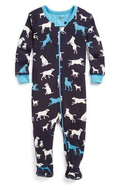 Hatley+Dog+Print+Fitted+Cotton+One-Piece+(Baby+Boys)+available+at+#Nordstrom