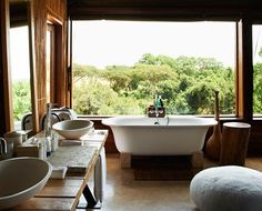 """7 Tips For A Perfectly-Designed Bathroom """"One of the most important areas of any home, the bathroom is more than just a utilitarian space."""""""