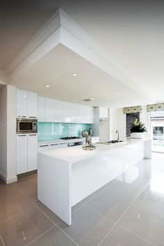 . nice kitchen splashback
