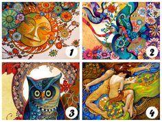 Mira las 4 cartas de color y permítele a tu intuición que elija su carta favorita. Por favor no elijas por elegir, escoge la carta que ... Would U Rather, Best Friends Forever, Tai Chi, New Beginnings, Marvel, Kawaii, Artwork, Painting, Psychology