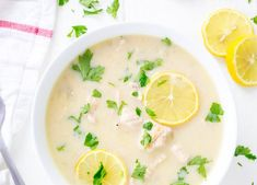 Instant Pot Greek Lemon Chicken Soup is a light greek soup that combines simple ingredients that results in a refreshing meal or a great starter! Perfect for Sunday supper with the family.