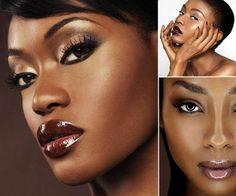 Minha amiga me sugeriu uma matéria sobre maquiagem para a pele negra. Eu particularmente não sou um especialista nessa área por isso tenho q...
