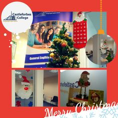 Christmas has arrives at Castleforbes College #xmas #christmas #dublinatchristmas #navidad #natale #noel #nadal
