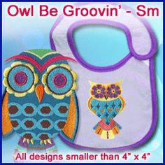 A Owl Be Groovin Design Pack - Sm $6.97....HAVE