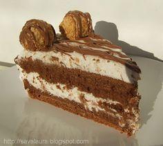 Tort Ferrero Rocher | Retete culinare cu Laura Sava