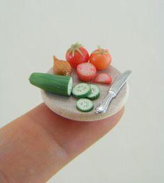 Simple Salad Prep Board by Shay Aaron, via Flickr