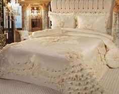 firfirli yatak örtüsü modelleri pink - Recherche Google
