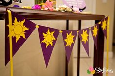 Rapunzel / Tangled Birthday Party Ideas | Photo 10 of 51