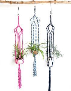 Jungle Love Plant Hanger | Modern Macrame x WATG  woolandthegang.com