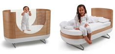 Über Stylish Modern Nursery Furniture by Ubabub