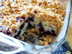 Blueberry Buckle...