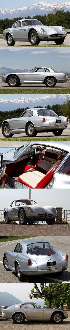 1954 Alfa Romeo 2000 Sportiva / Franco Scaglione Bertone / Itlay / silver #alfaromeovintage