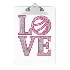 Basketball LOVE  Great coach gift!!!