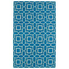Kaleen Glam Teal 8 ft. x 10 ft. Area Rug-GLA06-91 8 X 10 - The Home Depot