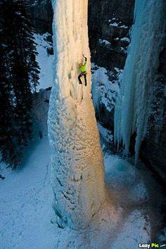 frozen waterFalls | Ice Climbing In Frozen Waterfall • Andhramania Forum